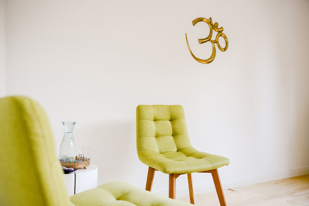 Therapieraum im Raum für Yoga Holzwickede