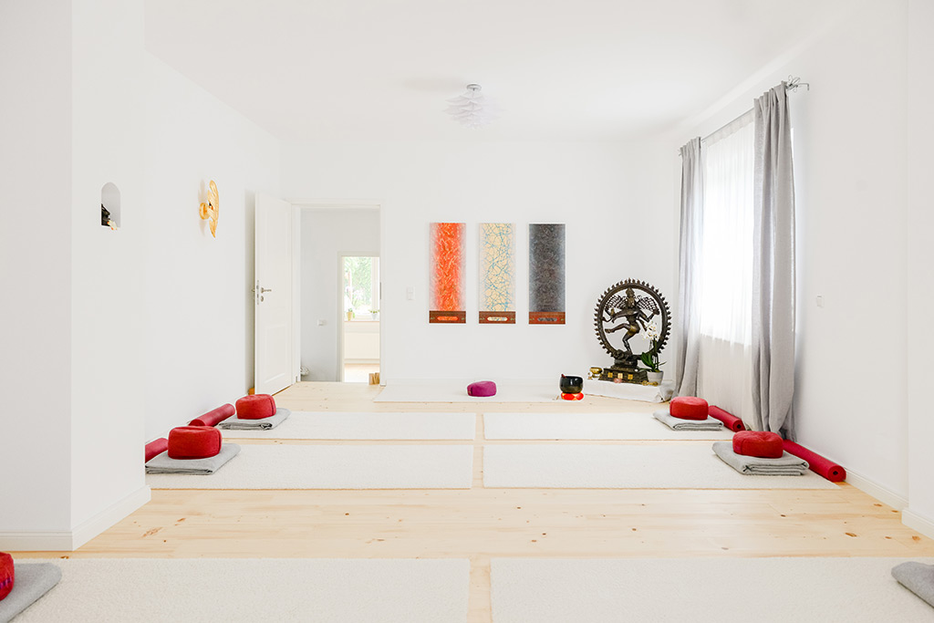 Yogaraum im RAUM für Yoga und Therapie in Holzwickede